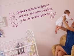 sprüche baby im bauch kribbeln im bauch wandtattoo 100cm baby schwanger kinderzimmer