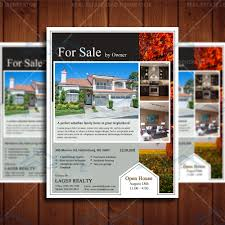 Real Estate Marketing Flyers Templates by Open House Real Estate Professional Marketing Template U2013 Real