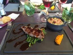 cuisine du cochon plumo de cochon ibérique photo de le bel m restaurant vaux sur
