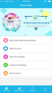 delivery service app clean laundry service app delivery