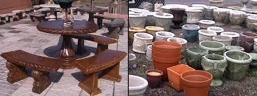Patio Furniture Portland Oregon Concrete Garden And Patio Decor Fountains Statues Planters