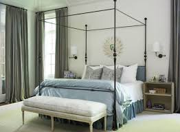 four poster bed usher in the holiday retreat vibe dream home style