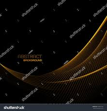 vector abstract shiny color gold wave stock vector 563947534