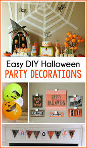 easy halloween party decoration ideas play party plan