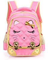 book bags with bows mysticbags cat waterproof kids backpack school book