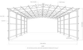 Wood Truss Design Software Free by Steel Frame Shed Design Pdf Plan 1012 Mrfreeplans Freeshedplans