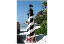 lighthouse lawn ornaments solar powered lawn xcyyxh