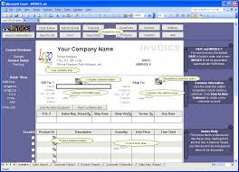 Microsoft Excel Quote Template Coreldraw Invoice Templates Software