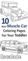free printable muscle car coloring pages ice cream color