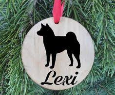personalized puggle ornament from cartattooz on etsy puggle