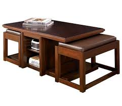 rectangle coffee table with stools coffee table with stools and storage