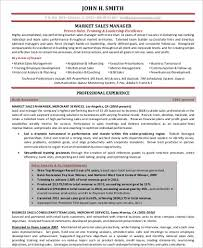 Sales And Marketing Resume Examples by Sample Sales And Marketing Resume 7 Examples In Word Pdf
