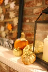 thanksgiving mantle decorating ideas gratitude frame