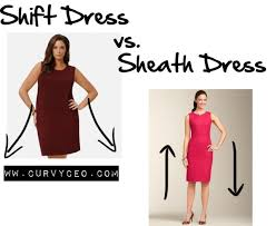 what u0027s the difference shift dress vs sheath dress curvy ceo