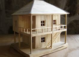 making a house how to make a wooden model house youtube loversiq