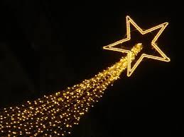 shooting star christmas lights shooting star street decoration christmas pinterest decoration