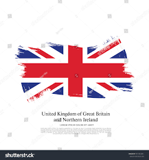 flag united kingdom great britain northern stock vector 551933461