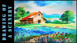 Paint A House by How To Draw And Paint A House Youtube