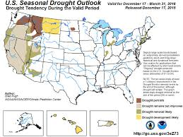 california drought map january 2016 el niño helps won t end historic california drought capradio org