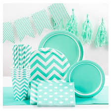 mint green streamers turquoise crepe streamer spritz target