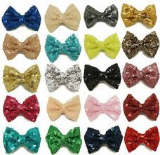 hair bows wholesale 2017 baby bows 3 glitter hair bows christmas sequin hair