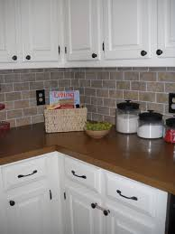 kitchen white brick tile backsplash brick kitchen backsplash 6 1