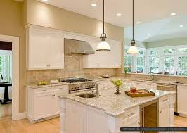 White Cabinets With Blue Walls Kitchen Outstanding Beige Painted Kitchen Cabinets Cabinet Ideas
