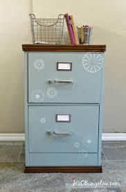 metal filing cabinet makeover wood trimmed filing cabinet makeover h20bungalow