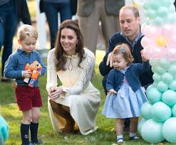 prince george and princess charlotte will be a page boy and