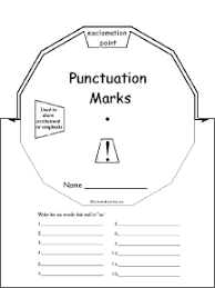 punctuation marks enchantedlearning com