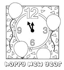 new year u0027s day coloring pages coloring pages