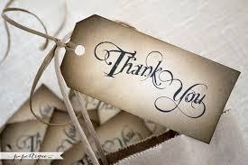 Wedding Gift Tags Hand Crafted Thank You Favor Tags Rustic Wedding Gift Tags
