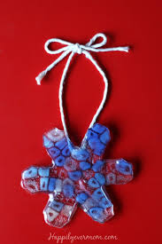 Easy Beaded Christmas Ornaments - easiest ever melted pony bead ornament happily ever mom