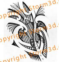 polynesian turtle tattoo design
