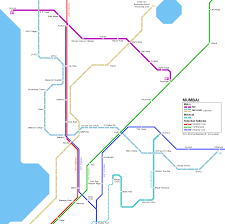 Blue Line Delhi Metro Map by Mumbai Metro Routes U0026 Stations U2013 A 2 Z About India