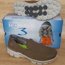 Sepatu Skechers Laki jual sepatu santai cowok laki skechers go walk3 sandal lari fitness