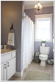 grey and purple bathroom ideas home tour guest bathroom builder grade blue grey and bath