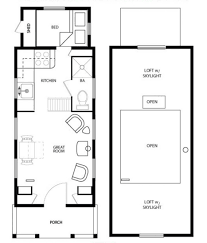 Small Home Floor Plans With Loft by 100 Small Home Floor Plans 24 Tiny House Floor Plans One