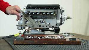rolls royce merlin modellmotor rolls royce merlin 1942 on vimeo