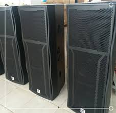 empty plastic speaker cabinets china mobile stage pa audio system party conference opening shows