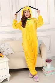 pluto unisex pajamas set sleepsuit pyjamas kigurum