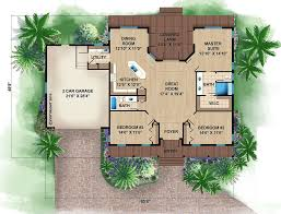 beach style house plan 3 beds 2 00 baths 1697 sq ft plan 27 481