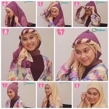 tutorial hijab syar i untuk pengantin tutorial hijab untuk pesta pernikahan 1 hijab tutorial for wedding