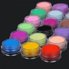 aliexpress com buy new colored acrylic nail powder 18 pcs mix