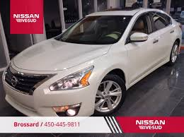 nissan altima 2013 down payment used 2013 nissan altima sl toit cuir gps mags in brossard used