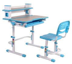 Computer Desk Posture Bobbie Xl Pink Blue Children Adjustable Furniture Desk U0026 Chair Set