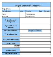 project charter example jpg 390 422 pixels project management