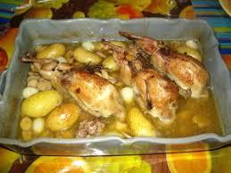 cuisiner des cailles au four cailles farcies maison le de béa et frédé