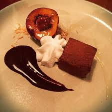 cuisine delice chocolate delice aerated coconut and scorched plum picture of