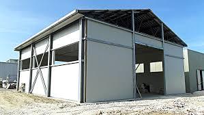 capannoni prefabbricati economici capannoni in ferro prezzi con rivestimento esterno per progetto di